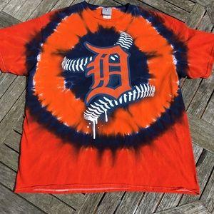 MLB Detroit Tigers Tie Dye T-shirt